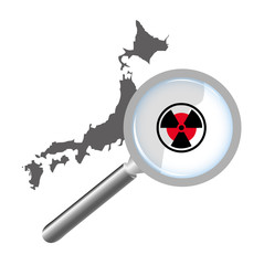 A Danger Radiation Magnifying Glass Over Japan