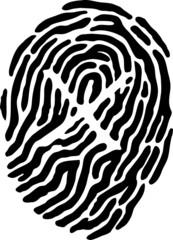 Fingerprint - Cross