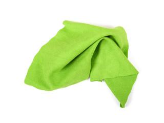 Green micro fibre cloth