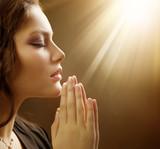 Beautiful Praying Girl