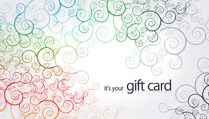Gift Card - Floral Elements