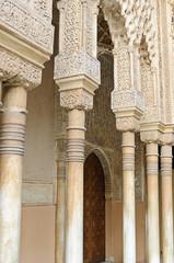 Moorish art and architecture in the Alhambra, Granada