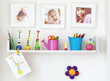 Kids shelf