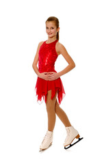 Figure Skater in Costume