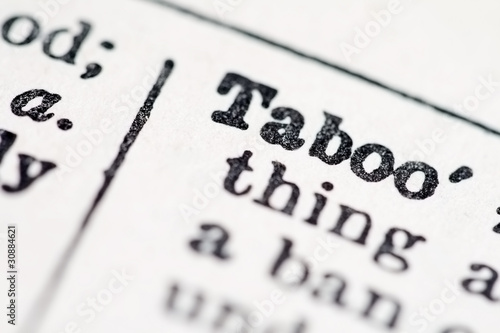 Taboo word in dictionary