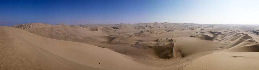 Ica desert panorama, Peru