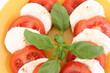 Caprese salad - tomatoes, mozzarella and basil