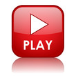 PLAY Web Button (watch video view media player icon live music)