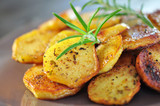 Rosmarin, Kartoffeln