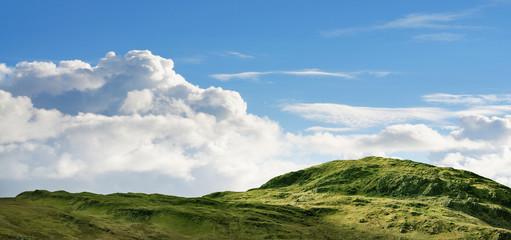 Rugged hill