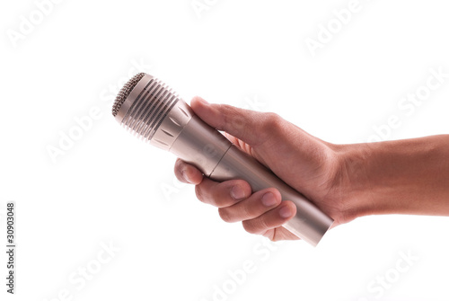 Uni-Directional Wireless Microphone Poster