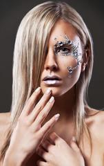 beauty, perfect make-up