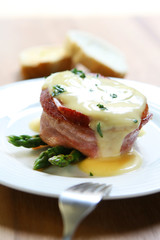 Steak with Hollandaise Sauce