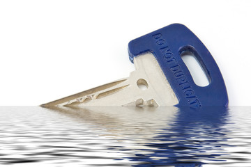 Key on water