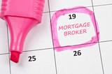 Mortgage broker mark poster