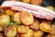 Bratkartoffeln mit Schweinebauch