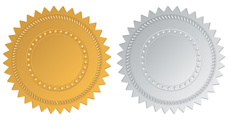Gold and Silver Seal