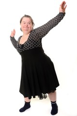 down syndrome femme
