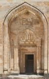 Door to Ottoman Sultan Palace Ishak Pasha in Turkey poster