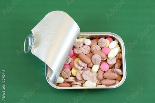 Tin pills