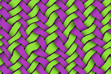 Green - Violet Twill Background