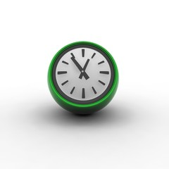 Conceptual 3d Table Clock