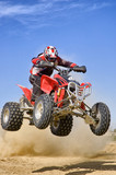 Fototapety Quad jumping
