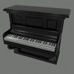 Decorative Style Piano