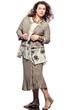 large build caucasian woman spring summer fashion