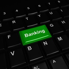 Green Banking Button