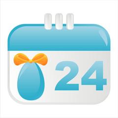 easter calendar icon