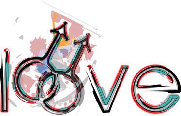 Gay love symbols.