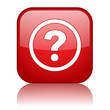 QUESTION MARK Web Button (questions and answers help faqs icon)