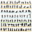 Sport silhouettes set