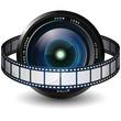 Camera Lens and Filmstrip