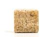 Macro shot of brown sugar cube