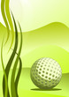Vector golf background