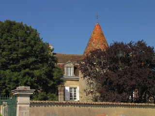 Ville de Souffrignac ; Charente, Limousin, Périgord