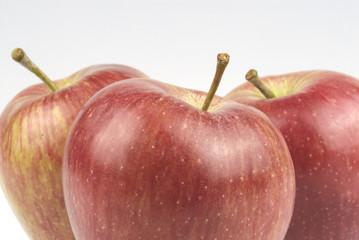 Manzanas rojas, detalle