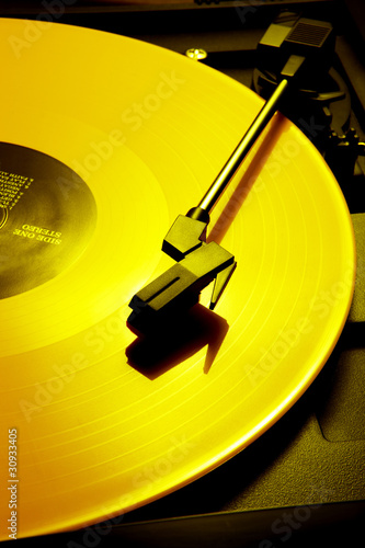 Yellow record