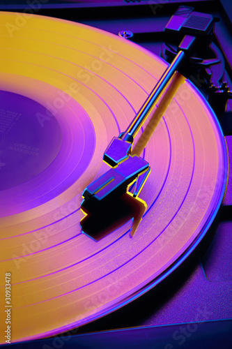 Colorful record player