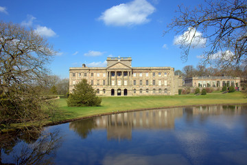 English stately home: Lyme Hall and Park