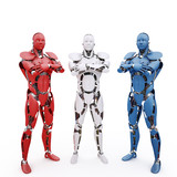 The trio of robots