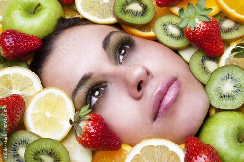 Obstgesicht