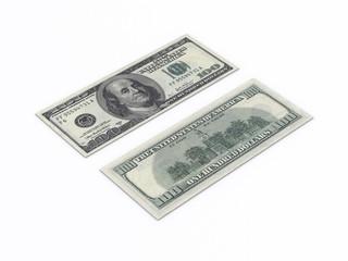 Two 100 dollar bills