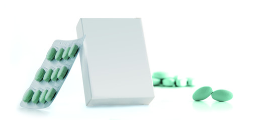 packaging pills isoled