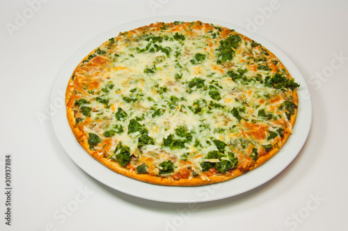 Spinach pizza - 30937884