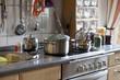 Küche in einem Einfamilienhaus