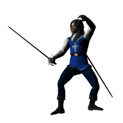 Musketeer en garde