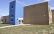 modern elementary school exterior